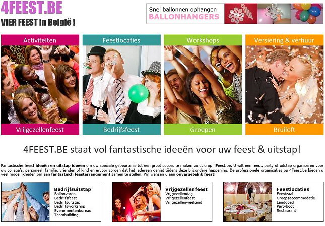 4Feest.be